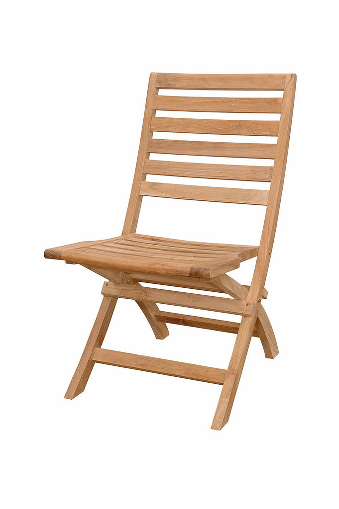Anderson Teak | Andrew Folding Teak Chair - Set of 2 |CHF-108 -  Furniture - Teakwood Central