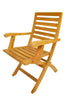 Anderson Teak | Andrew Folding Teak Armchair Set of 2 |CHF-109 -  Furniture - Teakwood Central