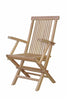 Anderson Teak | Bristol Folding Teak Armchair Set of 2 Chairs |CHF-2011 -  Furniture - Teakwood Central