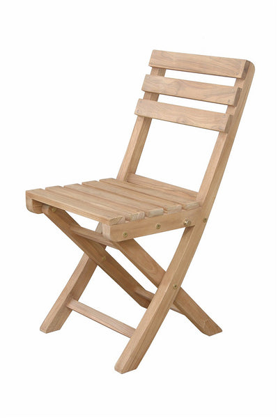 Anderson Teak | Alabama Folding Chair |CHF-2014 -  Furniture - Teakwood Central