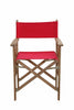 Anderson Teak | Director Teak/Canvas Folding Armchair Set of 2 |CHF-2088 -  Furniture - Teakwood Central