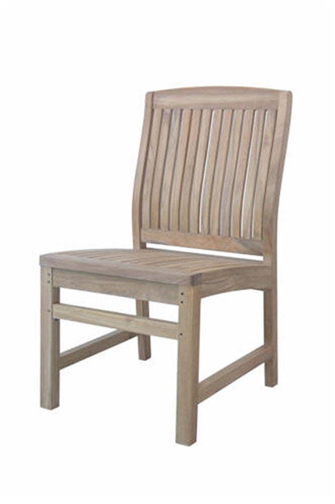 Anderson Teak | Sahara Non Stack Dining Side Chair |CHS-021 -  Furniture - Teakwood Central