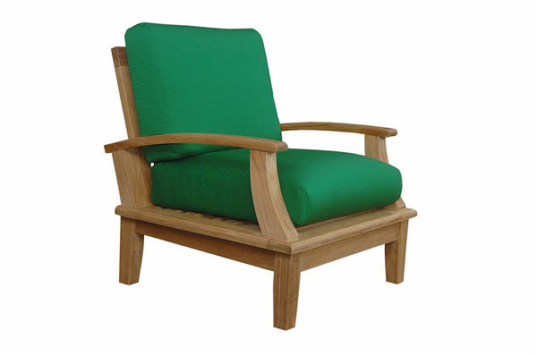 Anderson Teak Brianna Deep Seating Teak Armchair with Cushion |DS-101 -  Furniture - Teakwood Central