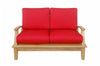 Anderson Teak | Brianna Deep Seating Teak Love Seat |DS-102 -  Furniture - Teakwood Central