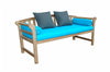 Anderson Teak | Brisbane Deep Seating Teak Bench |DS-183BH