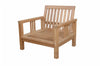 Anderson Teak | SouthBay Deep Seating Teak Armchair |DS-3011 -  Furniture - Teakwood Central