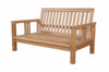 Anderson Teak | SouthBay Deep Seating Teak Love Seat |DS-3012 -  Furniture - Teakwood Central