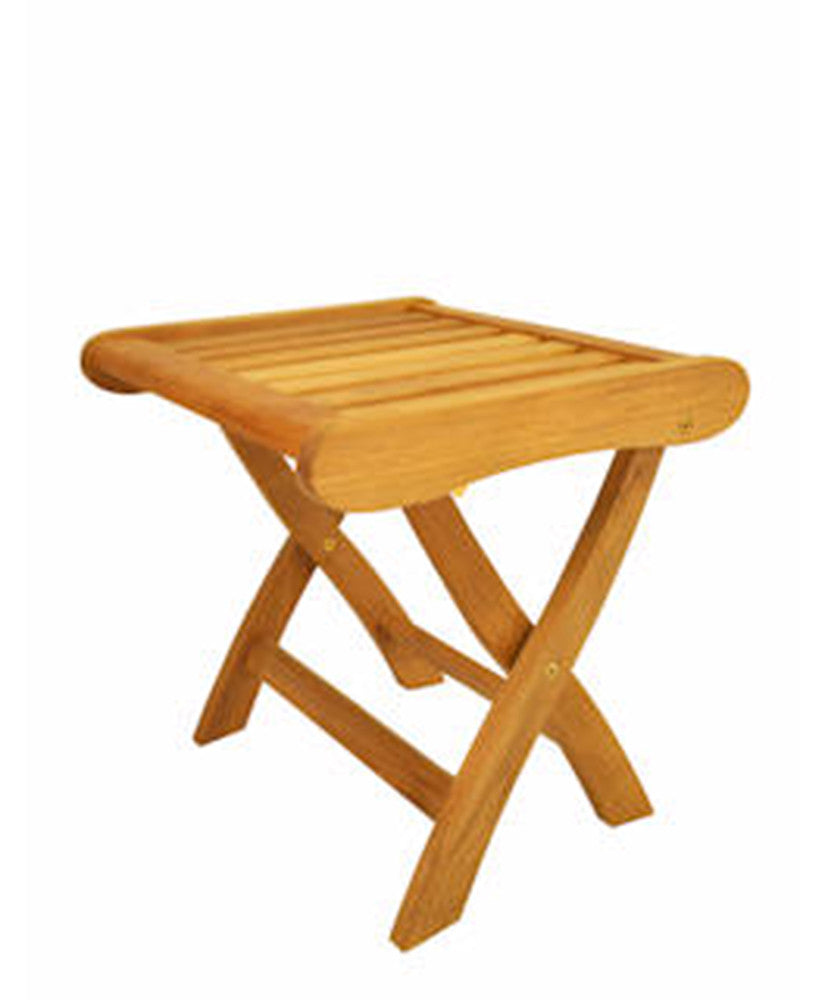 Anderson Teak | Katana Foot Stool |FS-120 -  Furniture - Teakwood Central