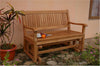 Anderson Teak | Del-Amo Teak Glider Bench |GL-101 -  Furniture - Teakwood Central