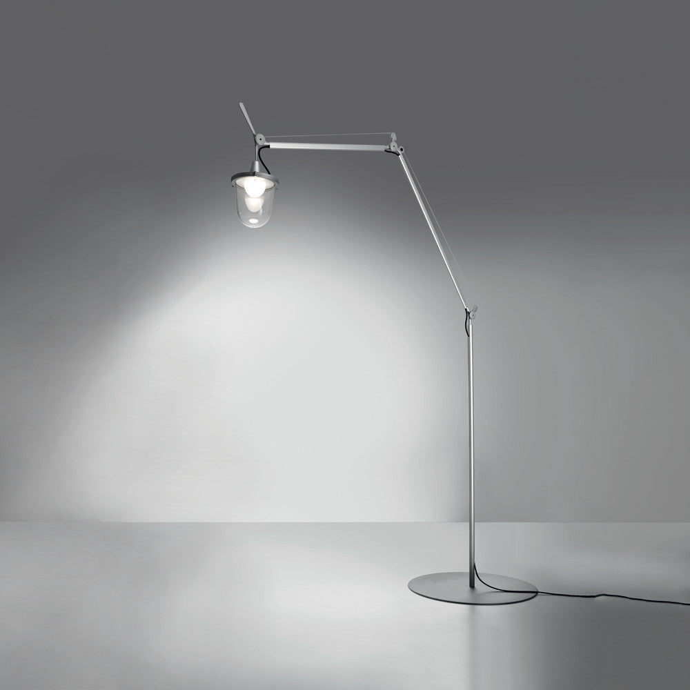 Artemide | Tolomeo Mega Outdoor Lantern Floor Lamp | AM-TOLOLF -  Outdoor Lighting - Teakwood Central
