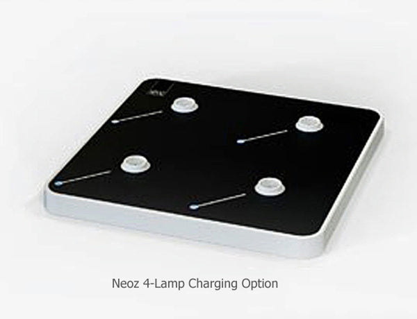 Neoz | Recharging Tray for 4 Cordless Lamps |NEO-ST) -  Lighting > Charging Devices & Remote Controls - Teakwood Central