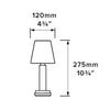 *Neoz | Victoria Cordless Rechargeable Table Lamp | NEO-CL029U -  Lighting - Teakwood Central