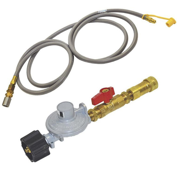 Propane Regulator, Ball Valve, Quick Connect, Hose and Air Mixer |AFG-FPLP -  Fire Pits > Accessories for Pits - Teakwood Central