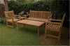 Anderson Teak | Classic Bench, 2 Armchairs &1 Coffee Table Set |SET-06 -  Furniture - Teakwood Central