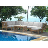 Natsepa Modular Deep Seating 10pc Set w/ Cushion Color Choice |SET-137 -  Furniture - Teakwood Central