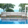 Natsepa Modular Deep Seating 9pc Set w/ Cushion Color Choice |SET-140 -  Furniture - Teakwood Central