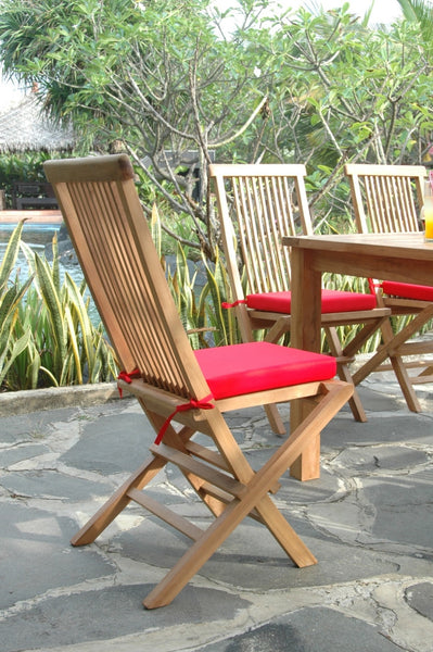 Anderson Teak | Bristol Folding Teak Chair Set of 2 Chairs |CHF-2010 -  Furniture - Teakwood Central