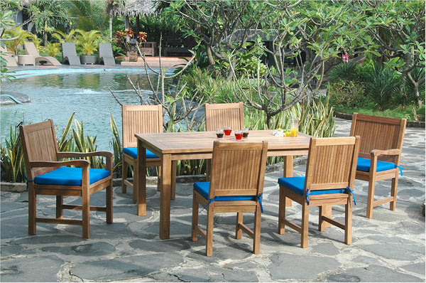 Anderson Teak | Montage Chester Teak Patio Dining Set Collection |SET-204