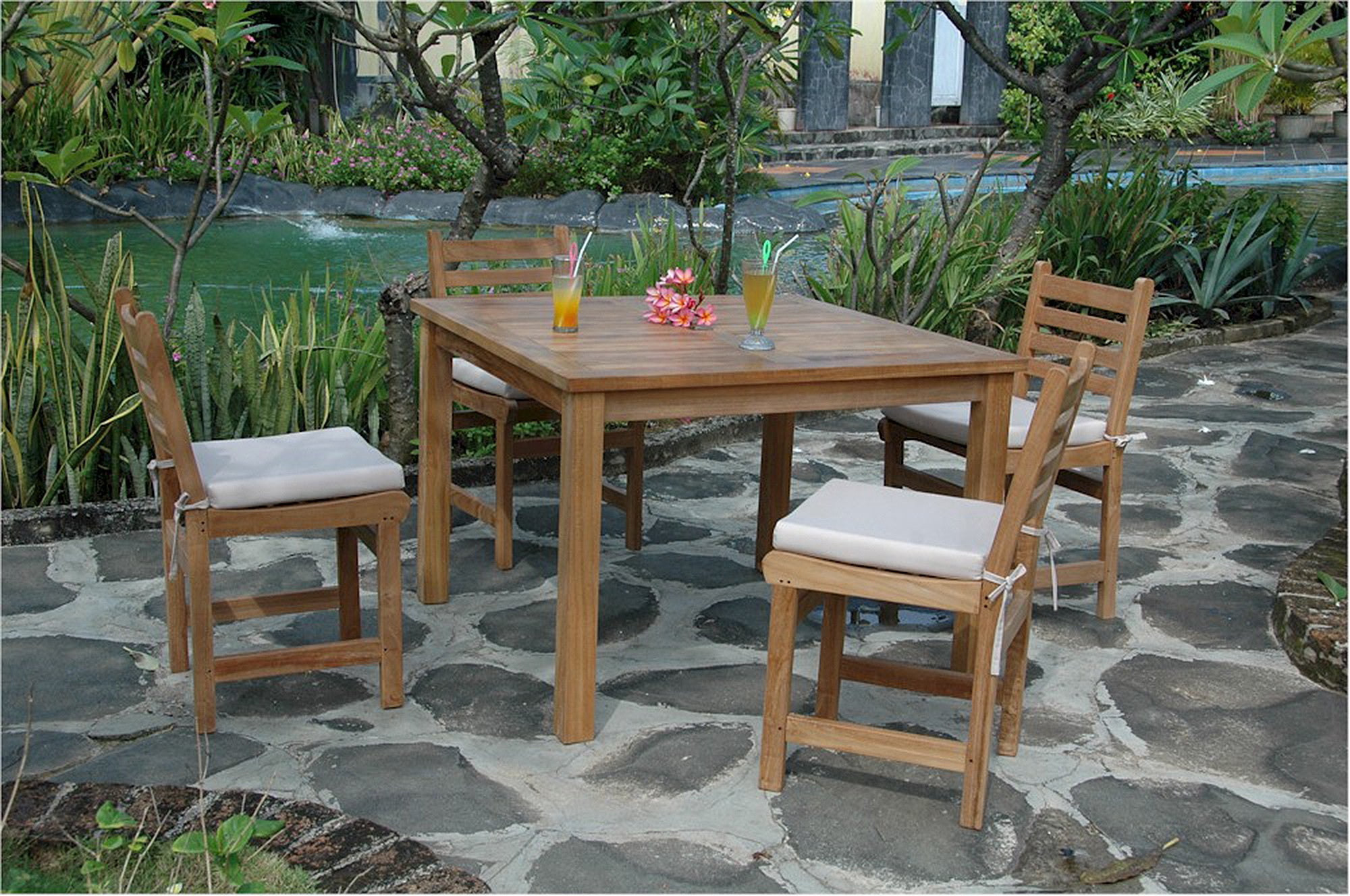 Anderson Montage Windham Teak Patio Dining Set Collection Set