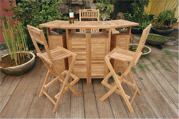 *Anderson Teak | Altavista Teak Bar Set |SET-20 - Teakwood Central