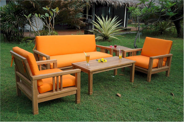 South Bay Deep Seating Collection Teak Set |SET-252 -  Furniture - Teakwood Central