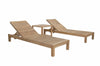 Set of 2 SouthBay Sun Loungers with 1 Side Table |SET-276 -  Furniture - Teakwood Central