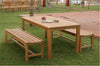 *Anderson Teak | Bahama Rectangular Table/Hampton Bench Dining Set |SET-31 -  Furniture - Teakwood Central