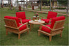 Anderson Teak | Brianna Armchair, Coffee Table & Side Table Set |SET-43