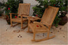 Anderson Teak |  Teak Wood Rocking Chairs 3 pc-set w/ Round Table |SET-47 -  Furniture - Teakwood Central