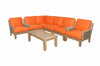 Luxe Modular Deep Seating 7 pc Set w/Cushion Color Choice |SET-73