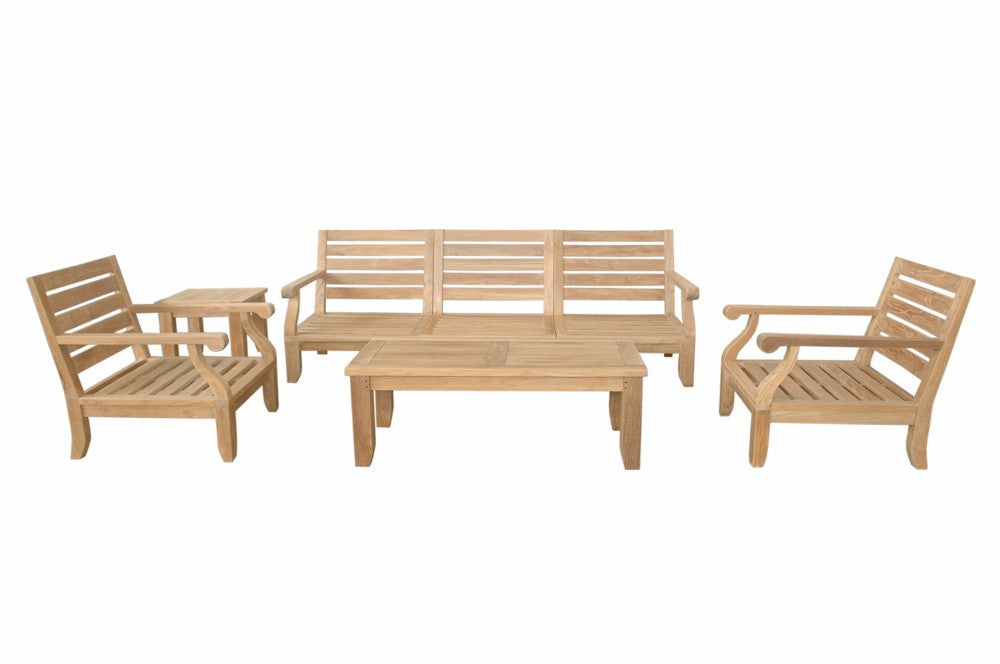 Anderson Teak | Riviera Luxe Modular 7pc Collection |SET-97 -  Furniture - Teakwood Central