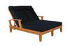 Anderson Teak | Brianna Double Teak Sun Lounger |SL-209 -  Furniture - Teakwood Central