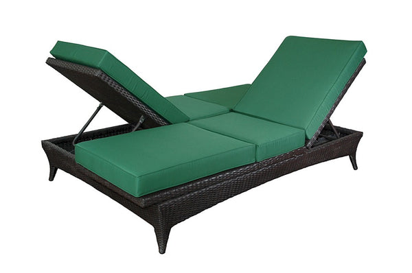 Anderson Wicker | Casanova Wicker Double Lounger |SR-222 -  Furniture - Teakwood Central