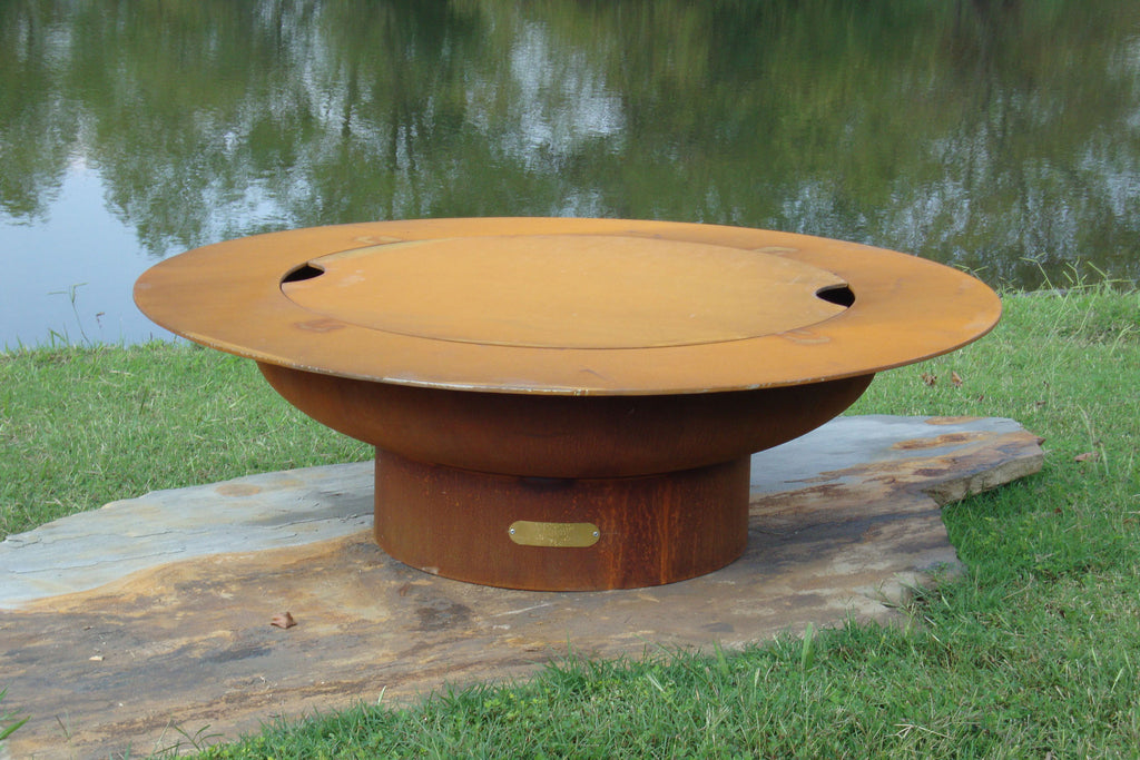 Fire Pit Art Saturn 40"