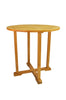 Anderson Teak | Round Teak Bar Table 39"