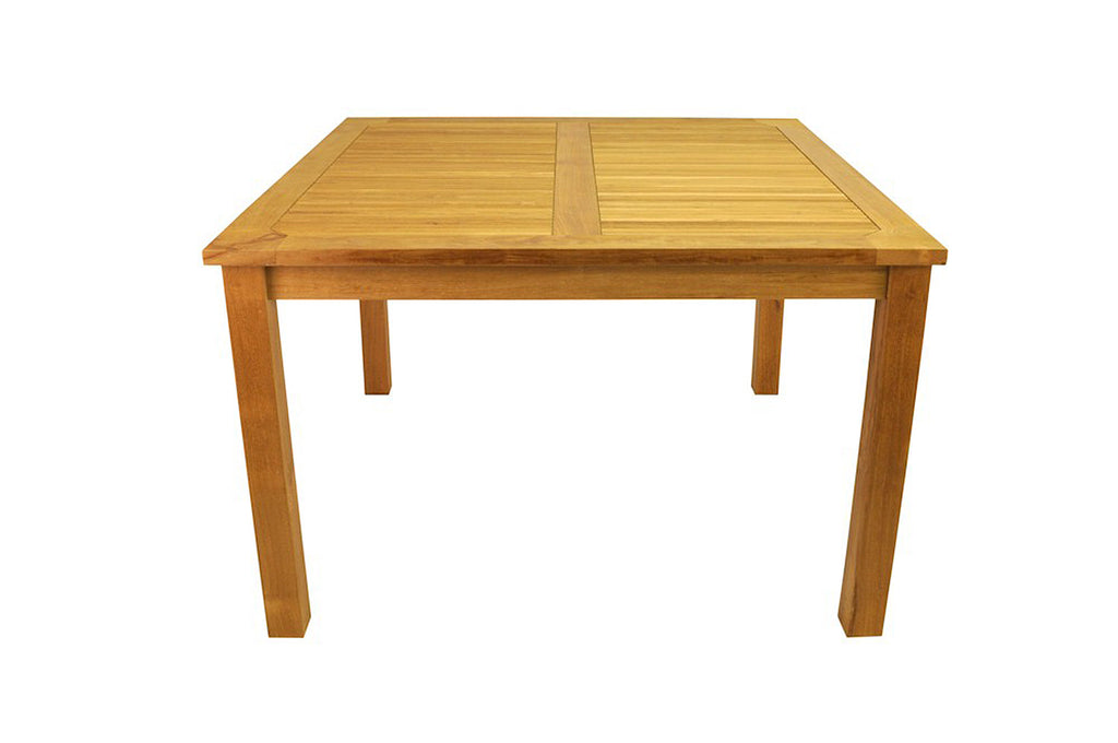 Anderson Teak | Windsor 47 inch Square Teak Table |TB-047SS -  Furniture - Teakwood Central