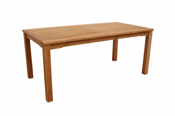 "Anderson Teak | Bahama 70"" Rectangular Dining Teak Table 