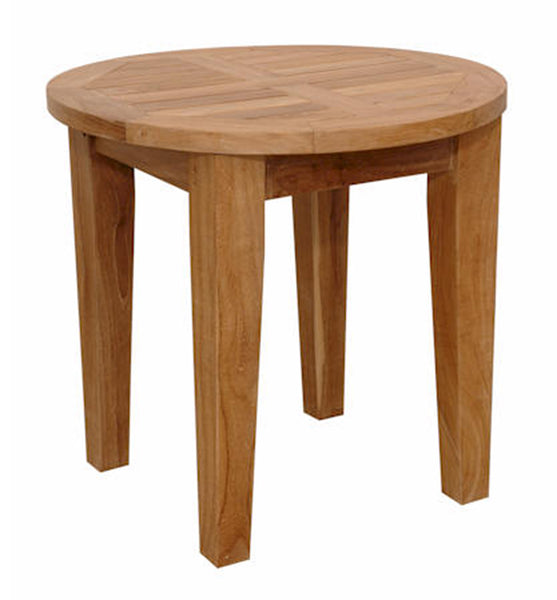 "Anderson Teak | Brianna 20"" Round Side Teak Table 