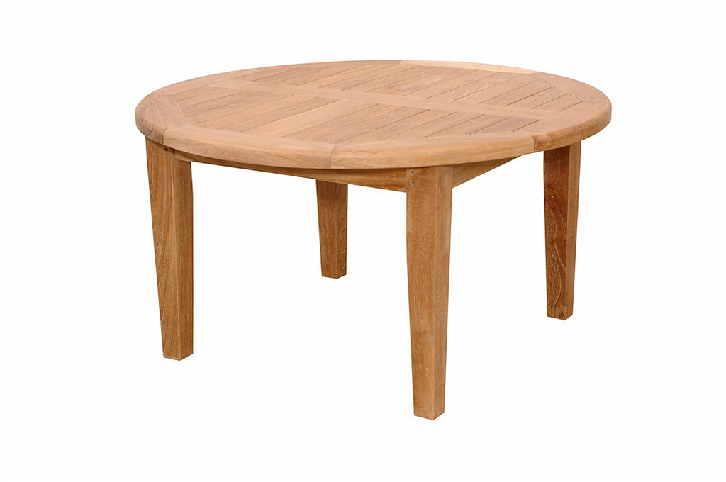 Anderson Teak | Brianna 35 inch Round Coffee Teak Table |TB-107 -  Furniture - Teakwood Central