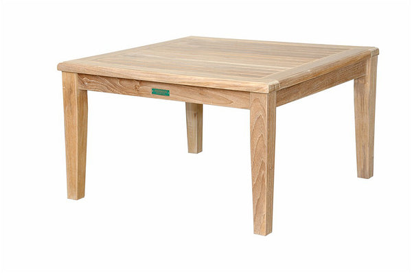 Anderson Teak | Brianna 32 inch Square Coffee Teak Table |TB-109 -  Furniture - Teakwood Central