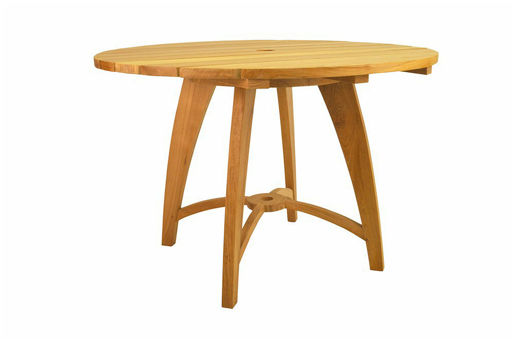 Anderson Teak | Florence Round Teak Table |TB-120NF -  Furniture - Teakwood Central