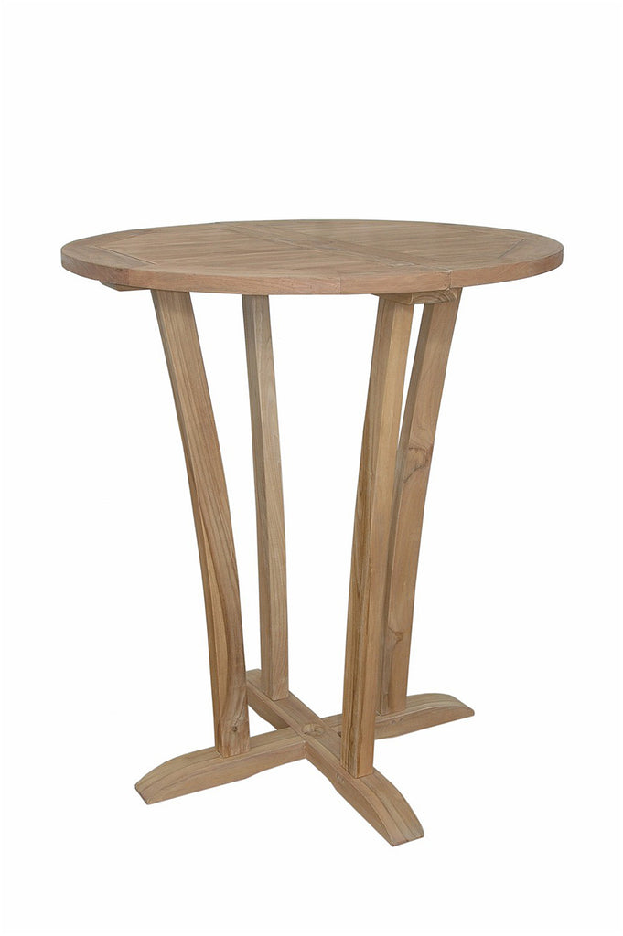 "Anderson Teak | Descanso 35"" Round Bar Table 