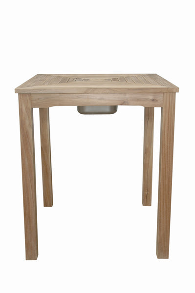 Anderson Teak | Chatsworth Ice Chiller Bar Table |TB-3636BT -  Furniture - Teakwood Central