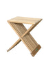 "Anderson Teak | Marilla 16"" Square Side Folding Teak Table 