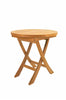 Anderson Teak | 20 Inch Mini Side Folding Teak Table |TBF-020R -  Furniture - Teakwood Central