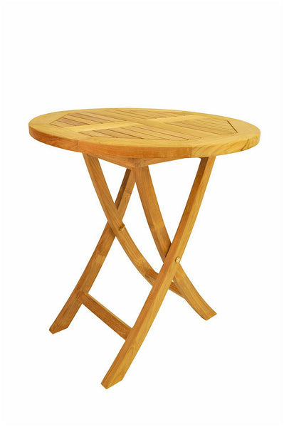 "Anderson Teak | 27"" Round Folding Table 