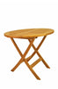 Windsor 31 inch Round Picnic Folding Teak Table |TBF-031R -  Furniture - Teakwood Central