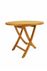 "Anderson Teak | Bahama 35"" Round Folding Table 