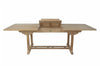 Anderson | Bahama 8 foot Rectangular Extension Teak Table |TBX-008R -  Furniture - Teakwood Central