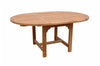 Anderson Teak | Bahama 67 inch Oval Extension Teak Table |TBX-067V -  Furniture - Teakwood Central